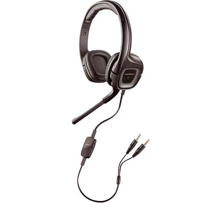PLANTRONICS MICROCASQUE AUDIO 355 CONNEXION CARTE SON DOUBLE JACK 3,5